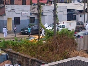 Pics: NNPC shuts down clinic in Lagos over suspected patient with Ebola virus